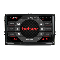 Belsee 9 Android 9.0 4GB 64GB Car Radio for VW Volkswagen Polo Jetta Passat b6 b7 Golf Skoda Seat Stereo Head Unit Autoradio