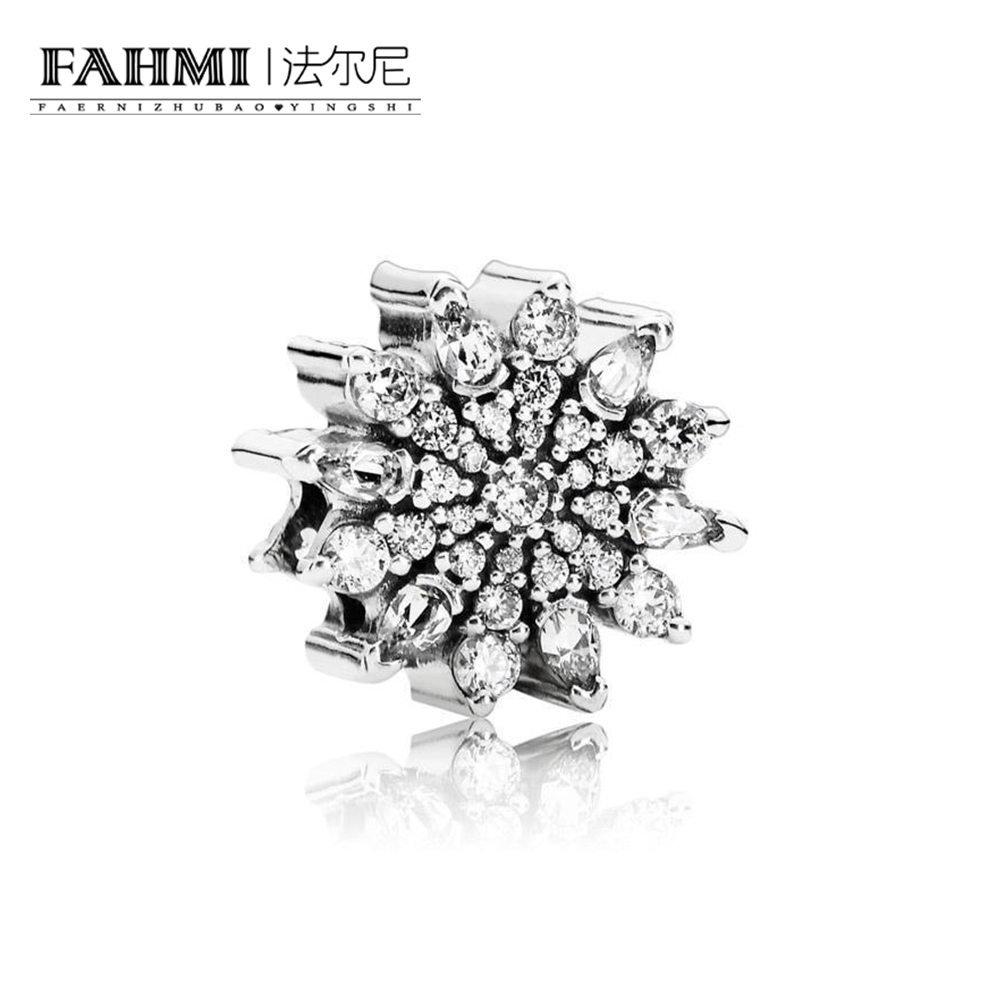 FAHMI 100% 925 Sterling Silver 1:1 Authentic 791764CZ Ice Crystal Charm  Bracelet Original  Women  JewelryFAHMI 100% 925 Sterling Silver 1:1 Authentic 791764CZ Ice Crystal Charm  Bracelet Original  Women  Jewelry