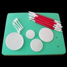 Помадка торт Подушка Губка украшения из мастики Кондитерские инструменты инструмент