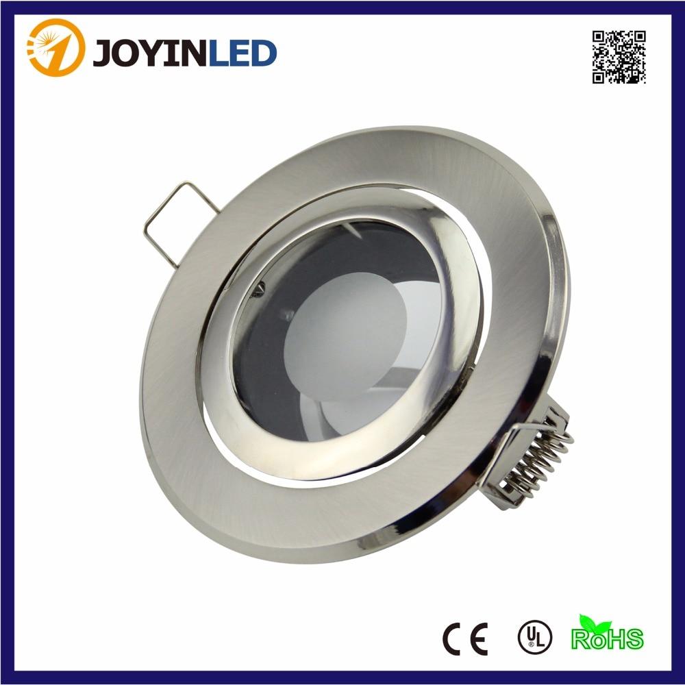 LED Ceiling lamp holder GU10/MR16 Lighting ceiling spot light fixture/Halogen mr16 spot lamp round fixtures aluminum white color