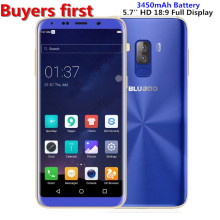 "Bluboo S8 Android 7.0 5.7"" 18:9 HD Display 4G LTE Smartphone MTK6750 Octa Core RAM 3GB ROM 32GB Dual Rear Cam 13MP Mobile Phone"