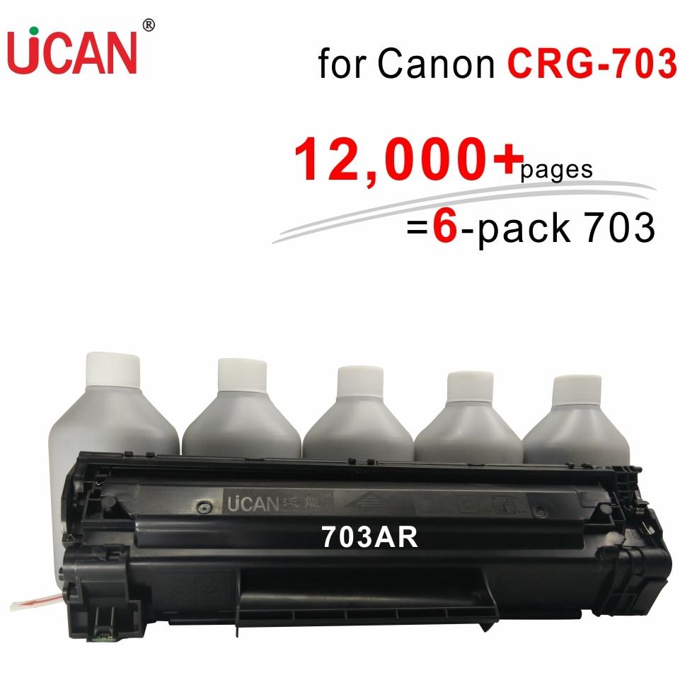 for Canon LBP2900 LBP-2900 LBP2900B LBP 3000 Printer CRG 703 303 103 UCAN 12,000+ pages Continuous Supply Toner Cartridges kit 2pcs oem new for canon crg 310 110 710 510 lbp 3460 ep 32 lbp 470 1000 charge roller printer parts