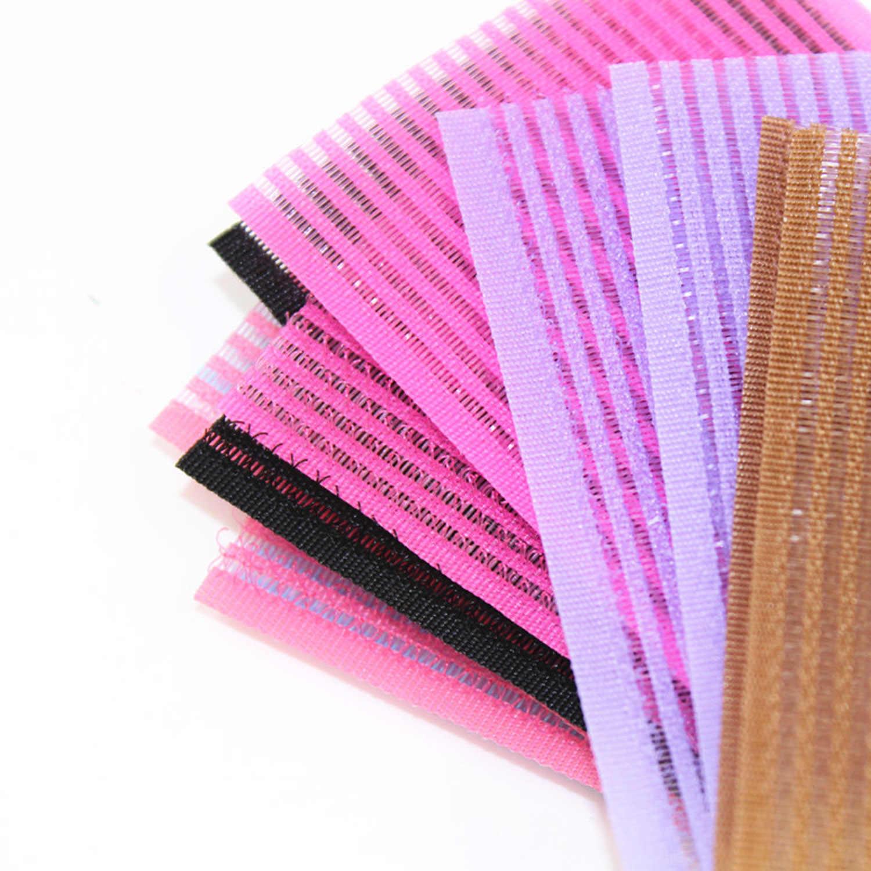1 пара крючков для волос петлевая Опора бахрома стабилизатор накладные волосы сцепление Банг листы шпилька аксессуары девушки красота случайный цвет
