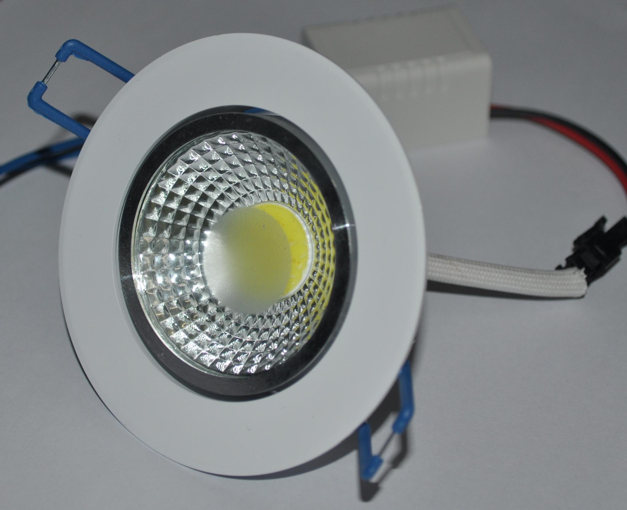 Новые 7 Вт 9 Вт 12 Вт COB чип светильник Встраиваемый светодиодный потолочный пятно света лампы белый/ теплый белый светодиодные лампы Бесплатн...