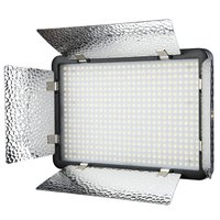 Godox LED500LR/Y 3300K Yellow Version Continuous on Camera LED Panel Studio Video Light Reflectors Lamp,Remote Controller