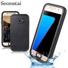 Pour galaxy S7 étui étanche vie originale eau saleté résistant aux chocs 6.6 pieds sous leau 2 m pour Samsung galaxy S7 G930 coque de téléphone