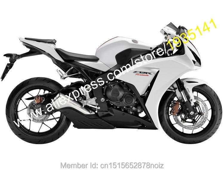 Горячие продаж,черный белый для Honda CBR1000RR ЦБ РФ 2012 2013 2014 РР 1000rr CBR1000 рублей АБС мотоцикл обтекатель комплект (литья под давлением)