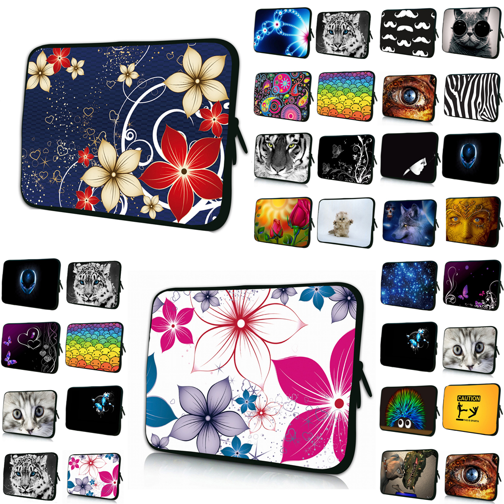 Viviration Wholesale Promotion Neoprene 7 10 12 13 14 15 17 Laptop Liner Sleeve Bag Zipper Cover Case For Macbook Air 11 13.3