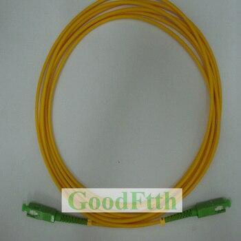 цена на Fiber Optic Patch Cord SC-SC APC SC/APC-SC/APC SM Simplex GoodFtth 5pcs/lot