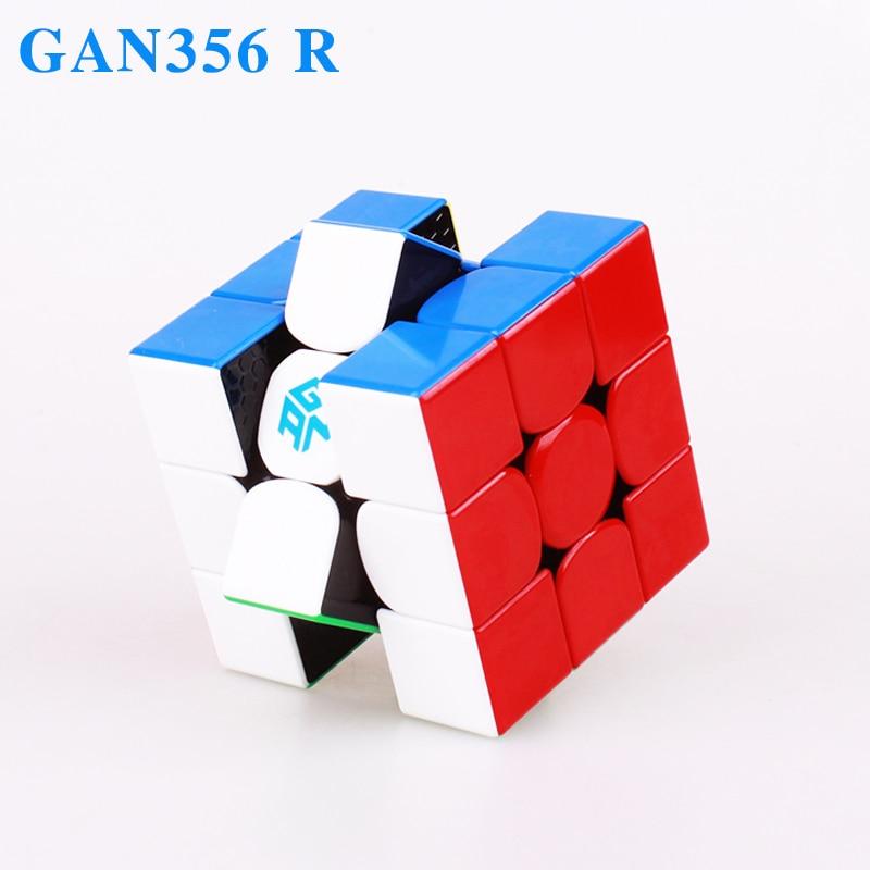 Gan 356 R 3x3x3 Cubes magiques Cube de vitesse professionnel Gan356R Puzzle Cube Gans R Neo Cubo Magico 356R jouet éducatif pour enfants