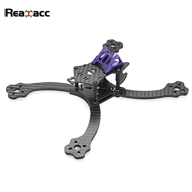 Realacc Firesword 220mm Wheelbase 4mm Arm Carbon Fiber Frame Kit for DIY RC Camera Drone FPV Racing Model Runcam Swift Cam Motor