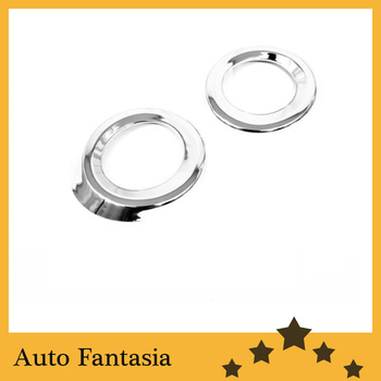 Chrome Front Fog Light Cover (Round Type) for Mercedes Benz W164 ML Class ('06-'08) -Free Shipping