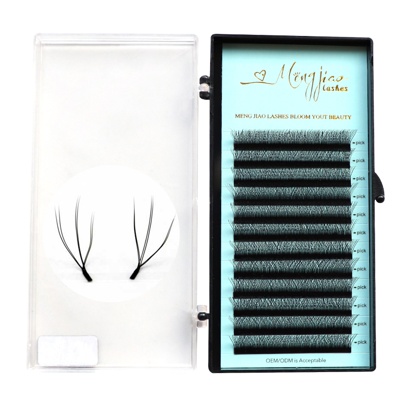 M&J W Shape Volume Eyelash Extension W Russian  Lashes With Doing Private Label Wimpern Lash Extension Tools For Makeup