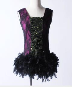 95fbc798ec black fairy kids adult princess tap lyrical Dance Tutu Girls Ballet Dancing  Dress princess dress with fur