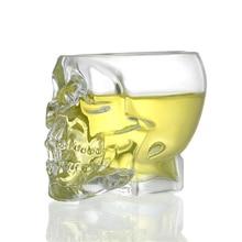 3D Пират Кристалл виски чашка сигары бар Водка Череп рюмка стакан es Copo Gafas Caneca Vidro Verre креативная пивная кружка
