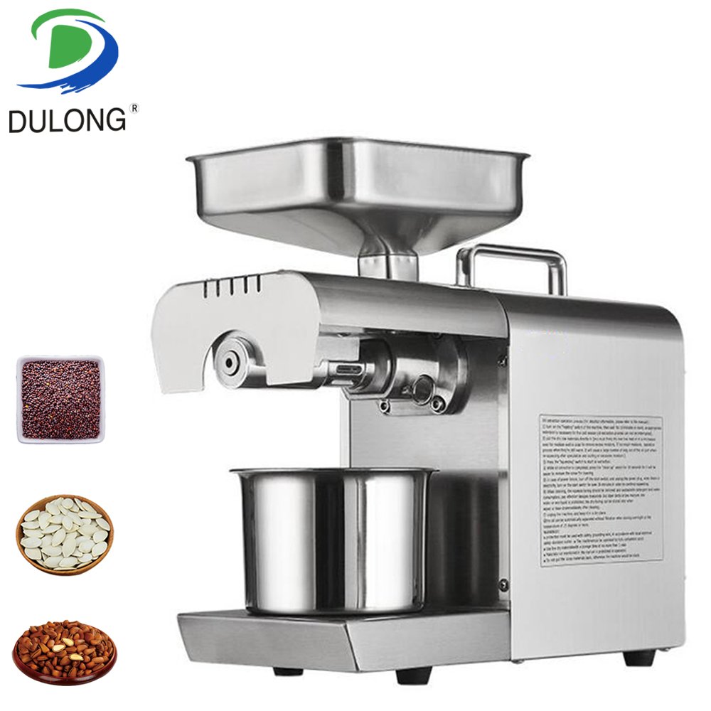 Oil Pressers Hot sale small household cocount seed nut Sesame/Melon seeds Rapeseed/Flax/Walnut Oil Press MachineOil Pressers Hot sale small household cocount seed nut Sesame/Melon seeds Rapeseed/Flax/Walnut Oil Press Machine
