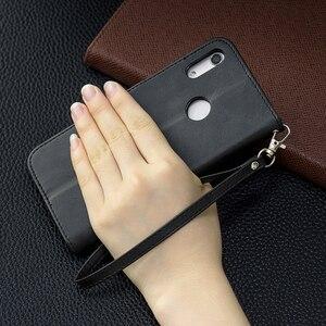 Image 3 - Da Vintage Dành Cho Huawei Y5 Y6 Y7 Danh Dự 10i 10 Lite Giao Phối 30 Lite P30 PRO Cấp Kiểu Ví thẻ Từ Bao