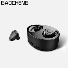 Cheap price Double Earbuds Bluetooth Headphones Built-in Microphone Wireless Lightweight In Ear Headset Sport Earphone with Charging Station