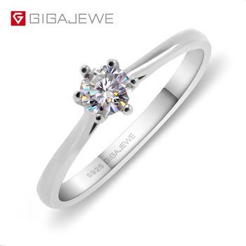 63ed123a2514 2019 nuevo Simple 925 Plata de Ley fina joyería de compromiso negro Spinel  redondo anillo de compromiso para mujeres Anillos Mujer G063