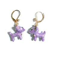 csxjd-enamel-glaze-cute-shiny-purple-dog-earrings-shiny-stud-earrings-women-jewelry