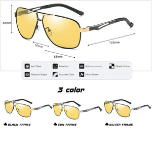 Image 5 - LIOUMO Brand Photochromic Sunglasses Polarized Men Sunglasses Day&Night Vision  Women Driving Glasses Oculos zonnebril mannen