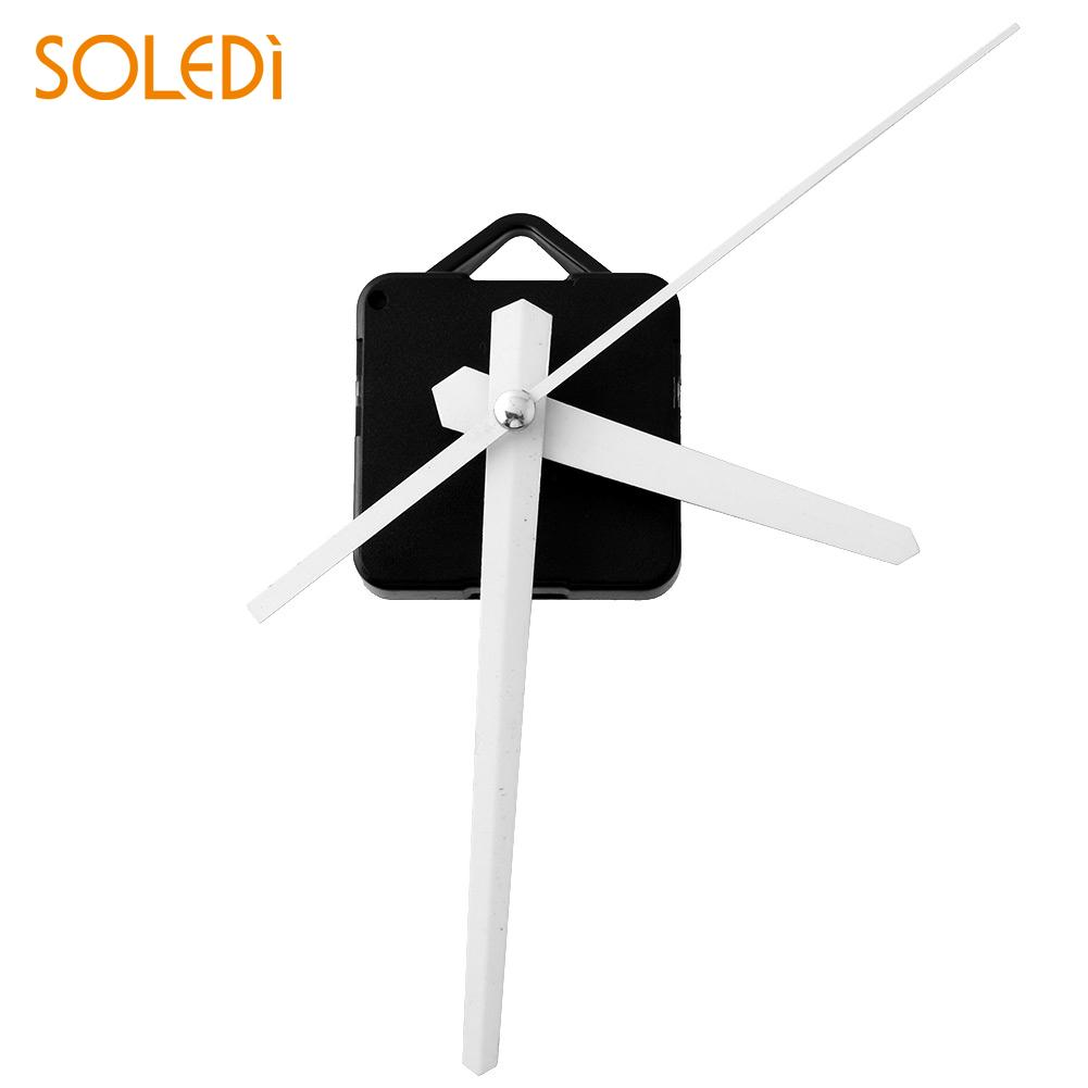 Clock Mechanism DIY Silent Classic WHITE Quartz Watch Wall Clock Movement Mechanism Parts Repair Replacement Essential Tools