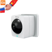 Xiaomi Mijia XiaoVV Smart 360 Panoramic Camera 1080P HD Panoramic IP Cam AI Humanoid Detection Night Version Work to Mi Home App(China)