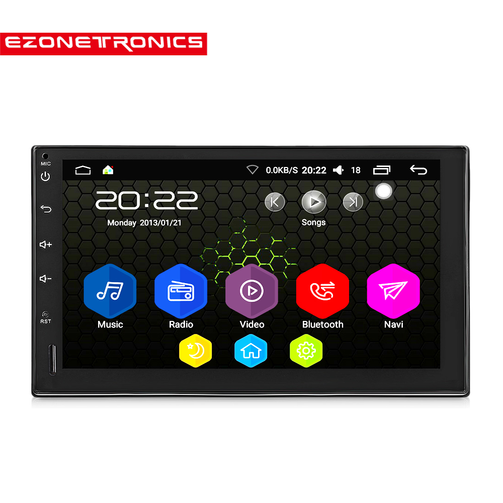 "New 2 Din Android 6.0 Car Radio Stereo 7""Universal Car"