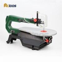 16inch Scroll Saw RCIDOS Mini Table Saw Desktop DIY Wood Curve Cutting Machine Plastic Acrylic Cutter