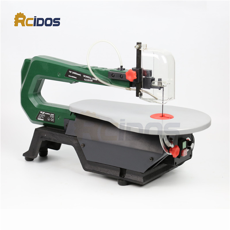 16inch Scroll Saw RCIDOS Mini table saw/Desktop DIY wood Curve Cutting machine,Plastic/A ...