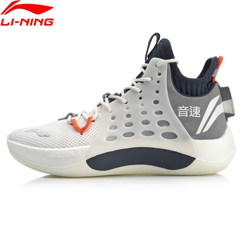 Li-Ning Men SONIC VII Professional Basketball Shoes CJ McCollum LIGHT FOAM Breathable LiNing Sport Shoes Sneakers ABAP019 XYL248