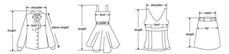 尺码测量表