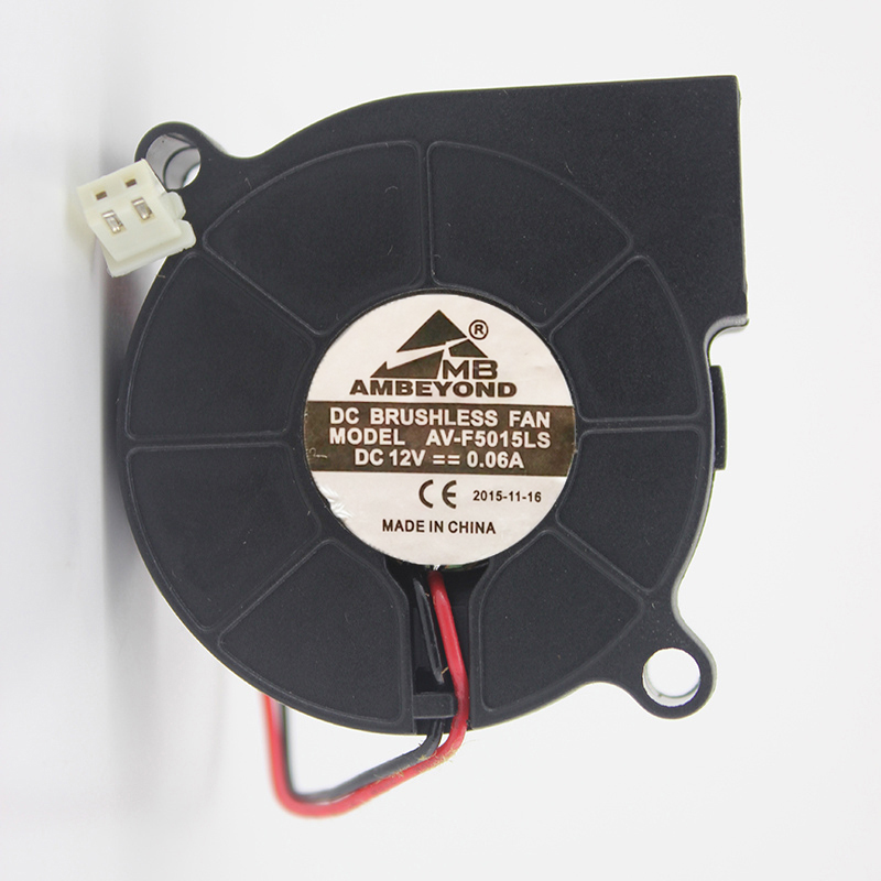 AV-F5015LS 12V 0.03A 0.06A humidifier dedicated fan 5015 blower