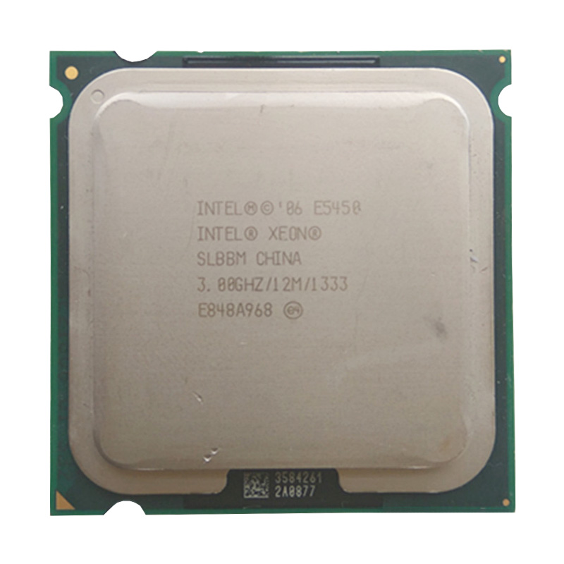 <font><b>XEON</b></font> <font><b>E5450</b></font> EO SLBBM CPU 3.0GHz /L2 Cache 12MB/Quad-Core//FSB 1333MHz/ server Processor working on some <font><b>775</b></font> socket mainboard image