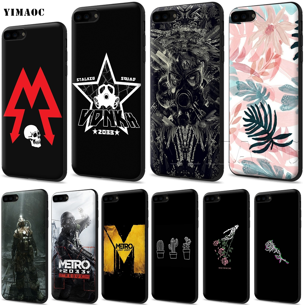 YIMAOC Metro 2033 Silicone Soft Case for iPhone 11 Pro XS Max XR X 8 7 6 6S Plus 5 5S SE