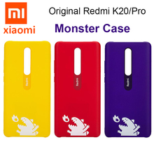 100% Original Xiao mi Red mi K20 Pro, k20 Fall Seltsame kraft Teufel Harter PC mi Echtem Fall Zurück Abdeckung Für Monster Specail Edition