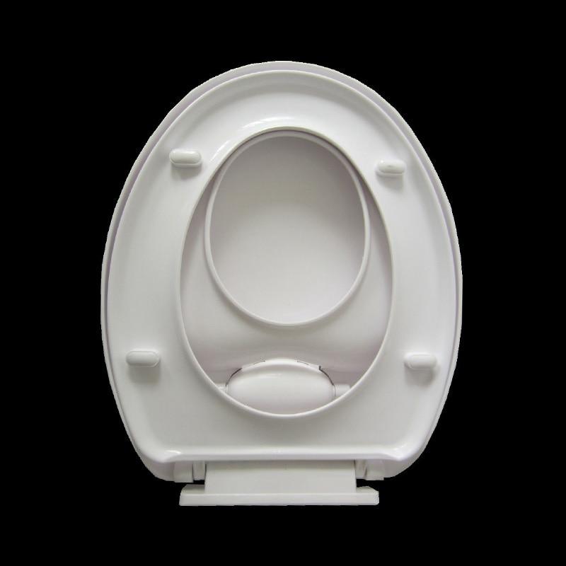 wc-istuimen kannesarja pehmeästi sulkeutuva aikuinen kaksinkertainen - Kotitaloustavarat - Valokuva 2