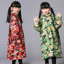 Nylon Raincoat Kids Girls Waterproof Children Coat Rain Poncho Cover Women Rainwear Impermeable Wiche Ladies Coats 50KO124