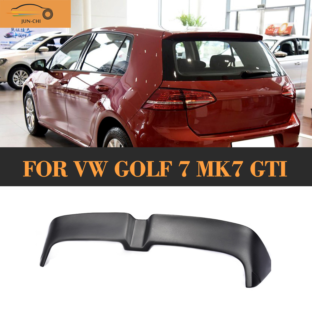 Auto Racing Car Tail Trunk lid Boot lip Wing FRP Rear Spoiler For Volkswagen VW GOLF 7 MK7 GTI & R 2014 2015 2016