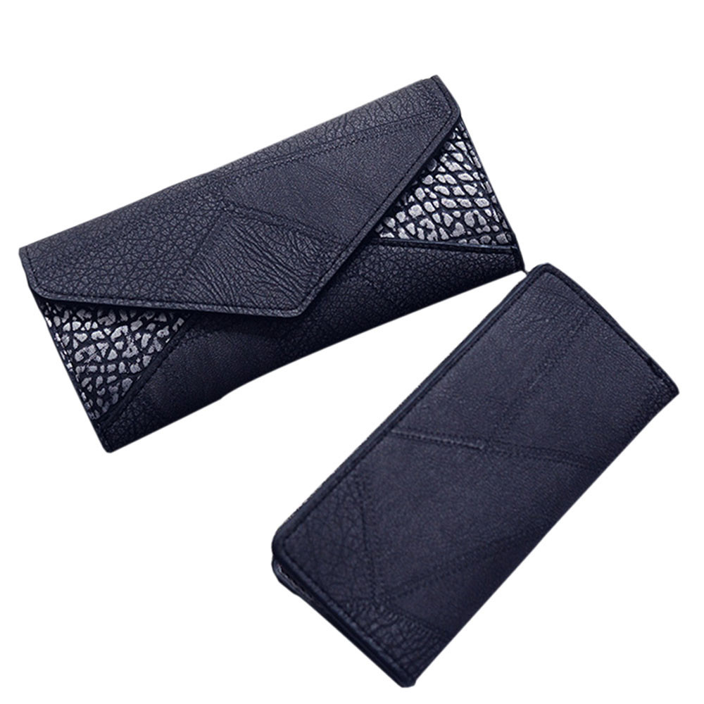 Vintage Leather Wallet Women High Quality Card Holder Lady Elegant Long Clutch Casual Coin Purse Wallets Female Carteira #Zer nawo real genuine leather women wallets brand designer high quality 2017 coin card holder zipper long lady wallet purse clutch