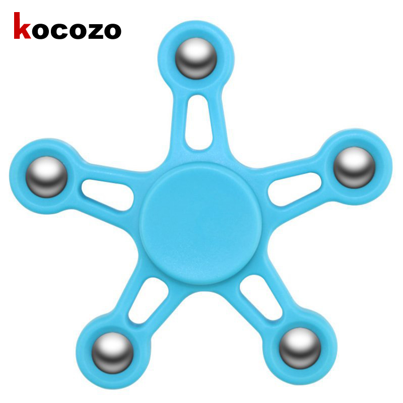 Fidget Toy ABS Plastic EDC Hand Spinner For Autism and ADHD Rotation Long Time Stress Relief