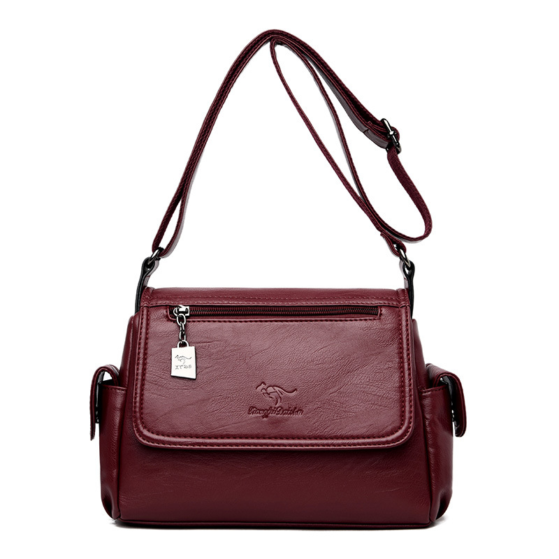 Women's Crossbody Bag Small Shoulder Bags For Women 2019 Designer Casual Ladies Hand Bags Genuine Leather Sheepskin Female Flap