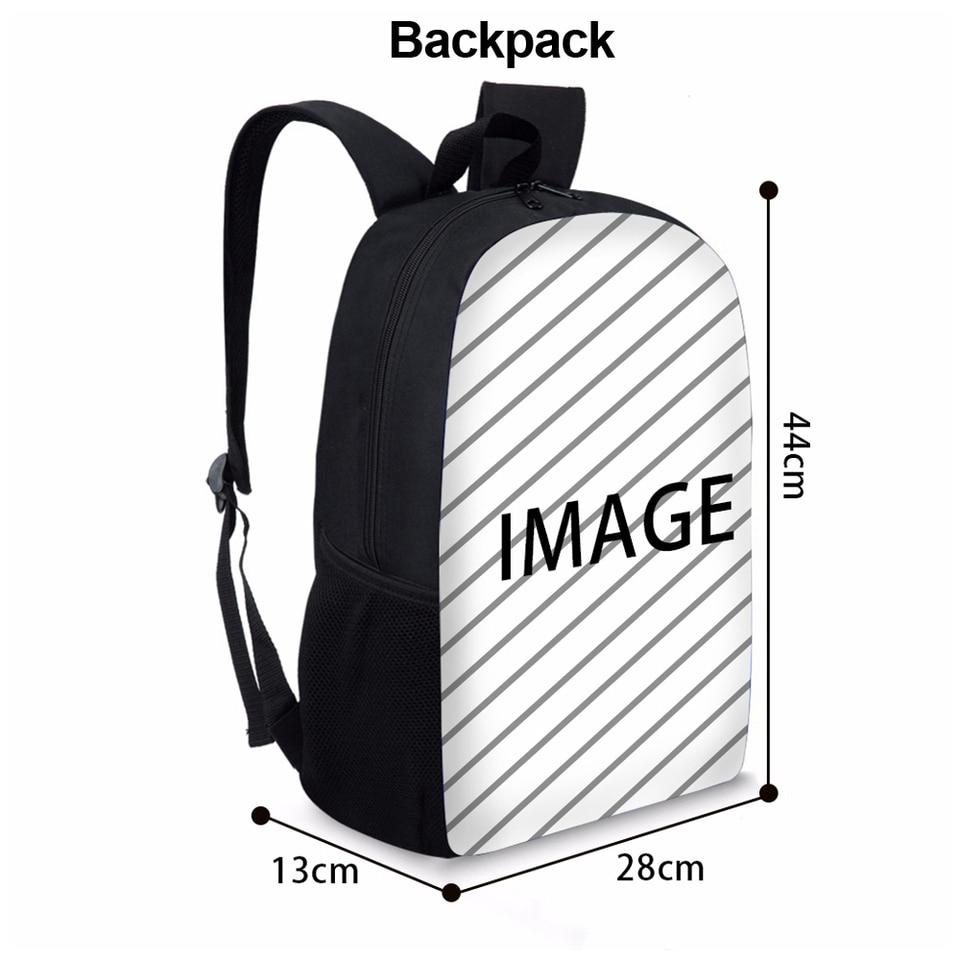 Deeprint Cool 3D School Book Bag Printing Backpacks Boys Girls African American Black Art Girls Kids Shoulder Bag Bookbag Children Scool Students Schoolbag