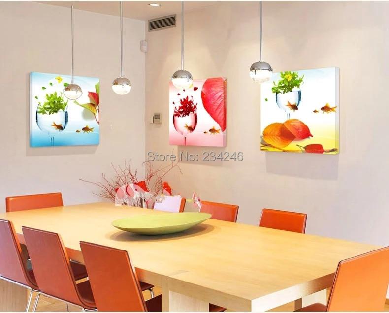 Compra cuadros de la pared para comedor online al por mayor de ...