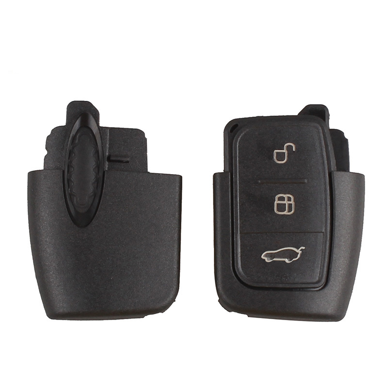 Image 2 - BHKEY 433Mhz 3Buttons Folding Remote Car key For Ford 4D60 4D63 Chip For Ford Focus 2 3 mondeo Fiesta key Fob HU101 Blade-in Car Key from Automobiles & Motorcycles