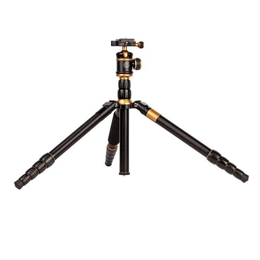 Q888 digital 1520 millimetri macchina fotografica del telescopio treppiede portatile 360 millimetri piegato alluminio video della macchina fotografica del basamento per videocamera digitale & DSLR monopiede foto - 5