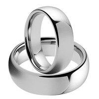 Soul Men Hot Sales USA Russia Brazil 8mm Plain Dome Lovers Tungsten Carbide Wedding Set Ring for Gay Lesbian TU001RC