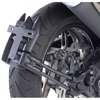 For YAMAHA TMAX 530 Accessories Motorcycle Rear Hugger Mudguards Fender Eliminator Plate Holder LED Light TMAX530
