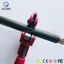 Нож с поперечным открыванием поперечный волоконно-оптический кабель для зачистки, применимый к кабельным линиям 3 мм до 28 мм