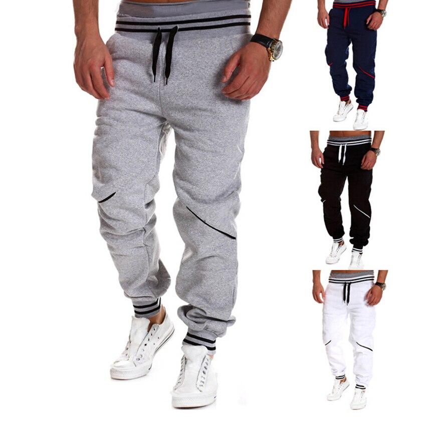 Men Hip Hop Pants Harem Joggers Pants 2018 Male Trousers Mens Joggers Solid Casual Pants Sweatpants Streetwear Hi-street Pan